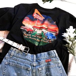 Tops - 🏷 In n Out graphic black throwback restaurant tee